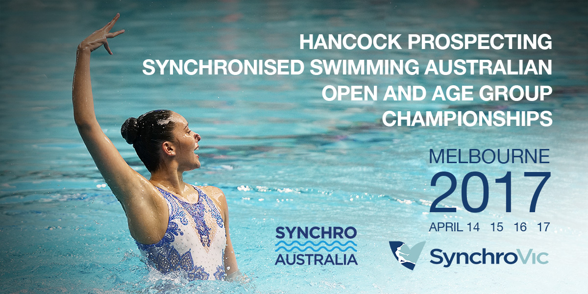 2017 Hancock Prospecting Synchronised Swimming Australian Open and Age Group Championships