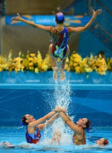 Australian Olympic Team in action at the 2012 London Olympics