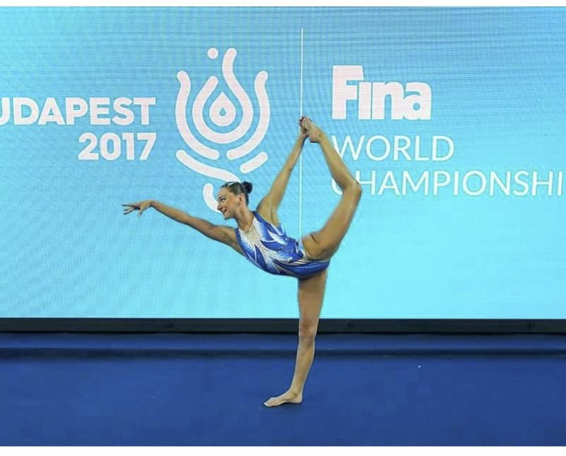 Amie Thompson is the new swimmers representative for Synchro Australia